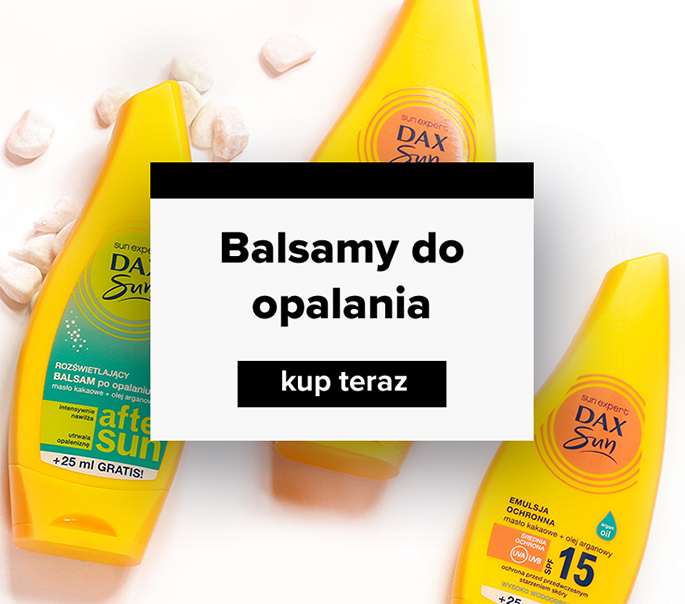 balsamy do opalania